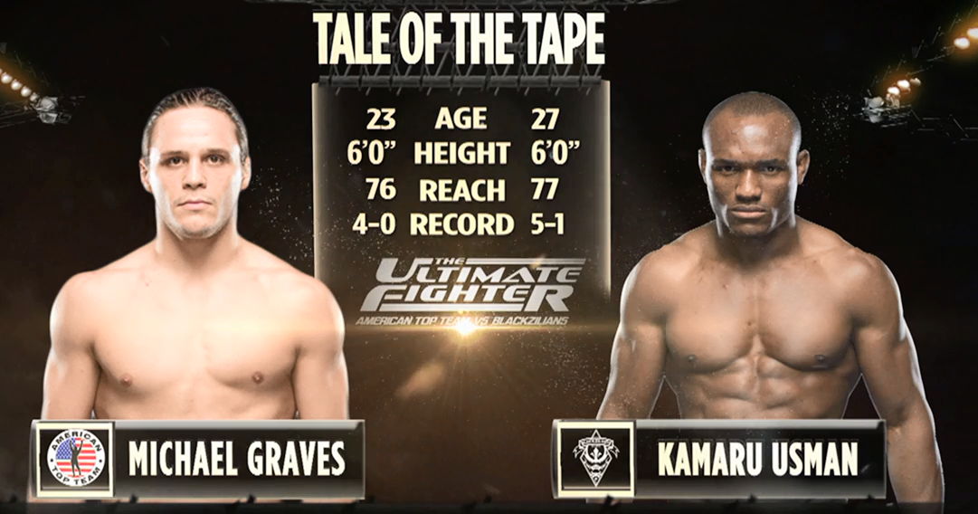 UFC® FIGHT PASS™ -Kamaru Usman vs Michael Graves The