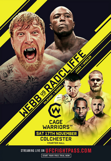 UFC® FIGHT PASS™ -Cage Warriors